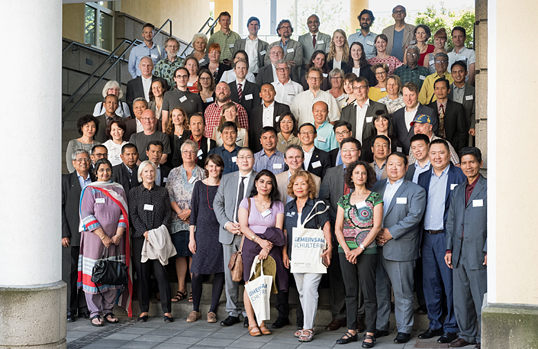 Group photograph of participants at the Second Conference.